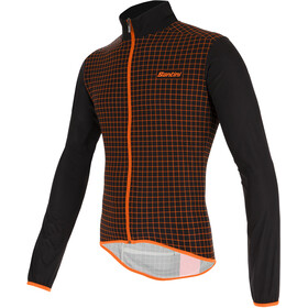 Santini Nebula Windbreaker Men black